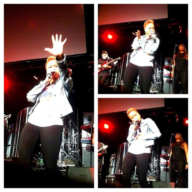 CHRISETTE MICHELLE - KEY CLUB SUNSET - JANUARY 12, 2013
