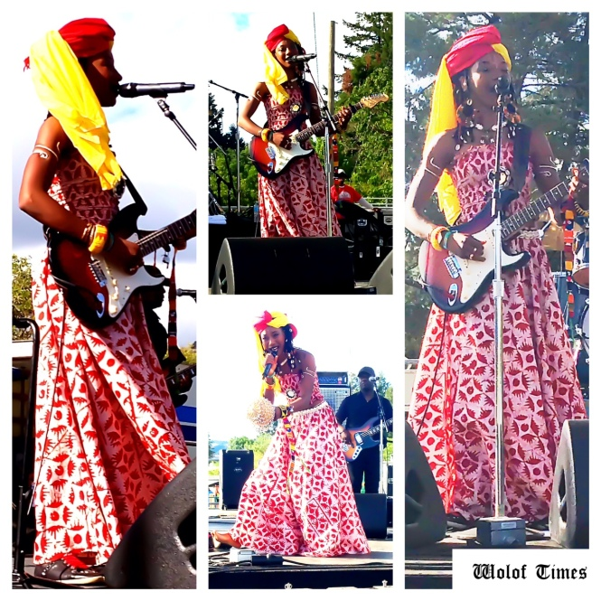 FATOUMATA DIAWARA – SIERRA NEVADA WORLD MUSIC FESTIVAL, MENDOCINO (CA) – JUNE 22ND-24TH, 2013