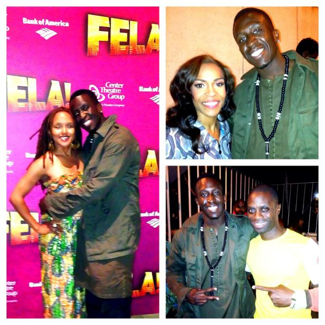 FELA! BROADWAY SHOW - AHMANSON THEATRE - MAY 4TH 2013