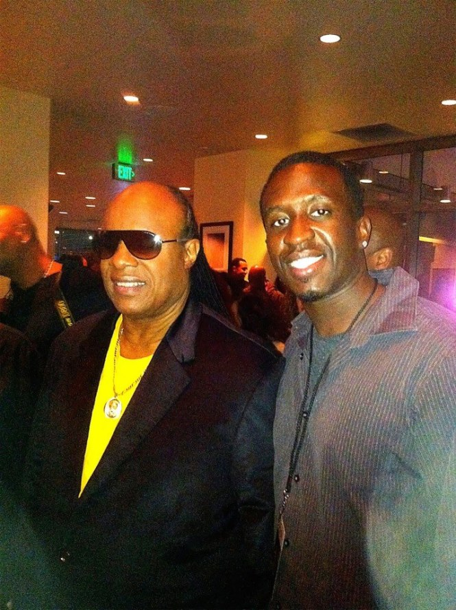 STEVIE WONDER - NOKIA THEATRE L.A LIVE - 17th ANNUAL HOUSE FULL OF TOYS - DECEMBER 17, 2012