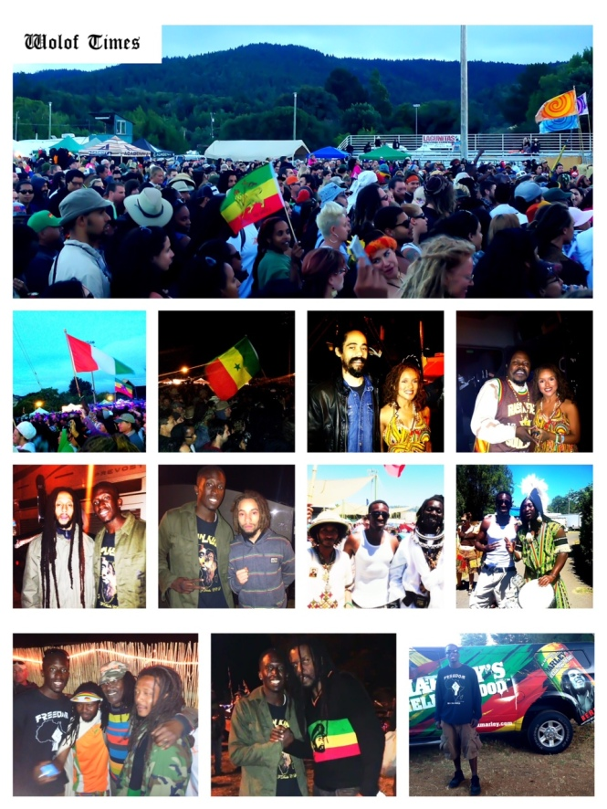 DAMIAN MARLEY, LUCIANO, JULIAN MARLEY, JO MERSA MARLEY, ALPHA BLONDY - SIERRA NEVADA WORLD MUSIC FESTIVAL, MENDOCINO CTY, (CA) - JUNE 22ND-24TH, 2013
