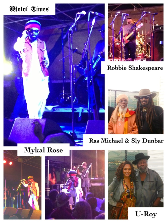 MYKAL ROSE, SLY & ROBBIE, U-ROY - THE BEACH BALL FESTIVAL, SANTA MONICA (CA) - SEPTEMBER 22ND, 2013